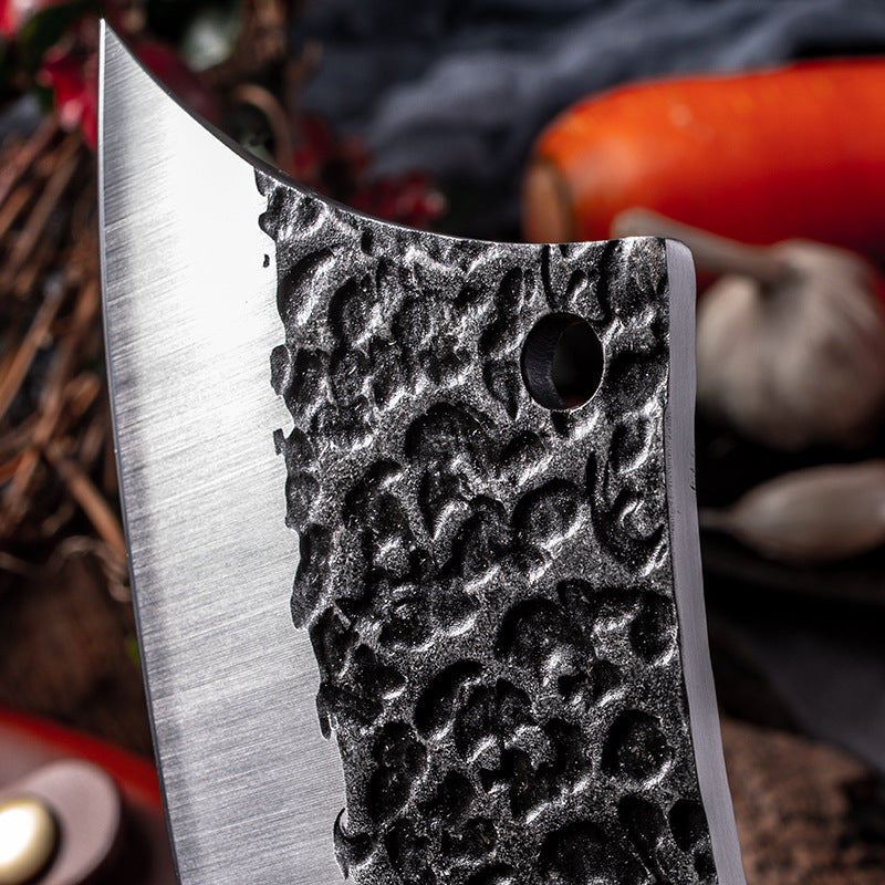 Forged hammer tactical kitchen knife