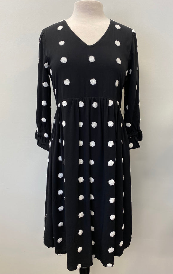 Swiss Dot Midi Dress