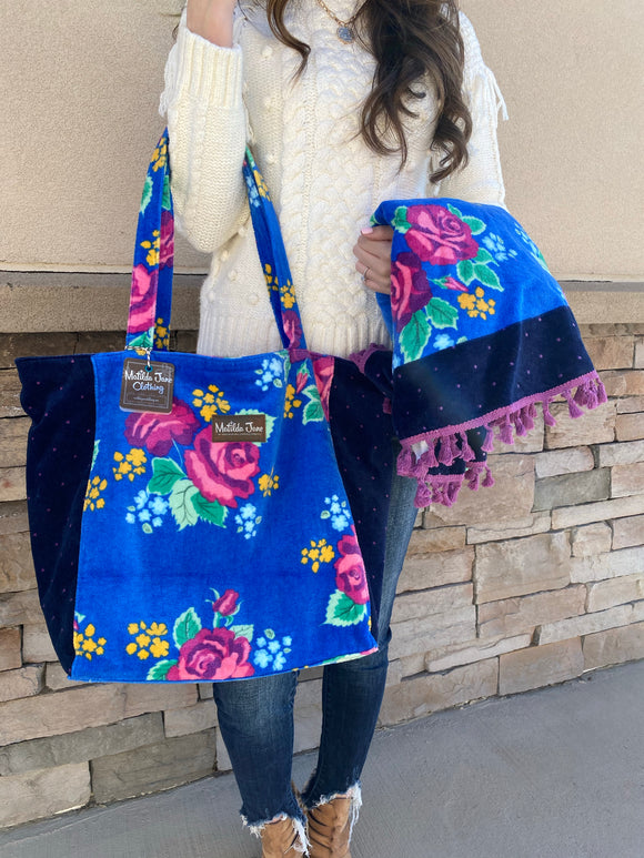 Matilda Jane Tote Bag & Matching Beach Towel - NWT