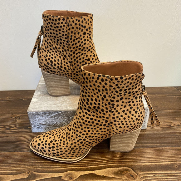 Wendy Bootie - Cheetah
