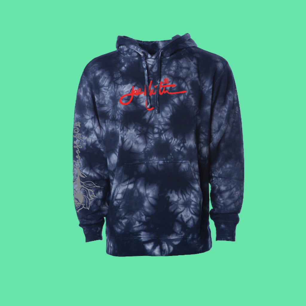 Choose love dyed hoodie