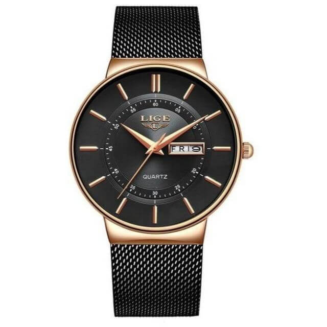 Steel Waterproof Fashion Watch