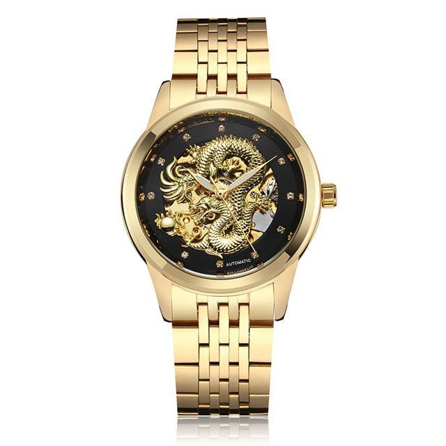 Dragon Automatic Watch - watch-yes
