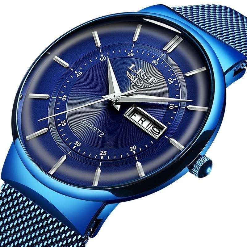 Steel Waterproof Fashion Watch - watch-yes
