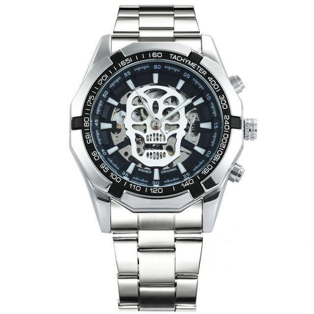 Original Automatic Fashion Watch With Steel Strap - watch-yes