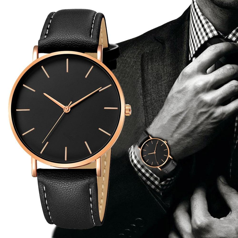 Simple Watch With Stylish Strap - watch-yes