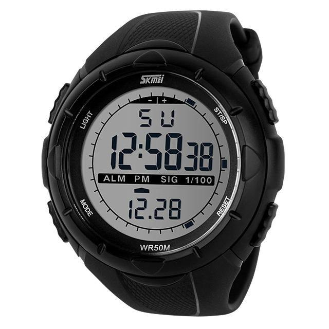 Waterproof And Shockproof Sport Watch - watch-yes