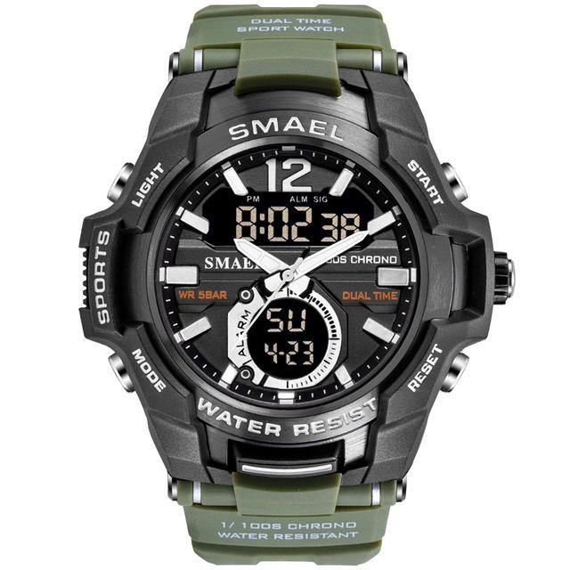 Shock Resistant Military Watch - watch-yes