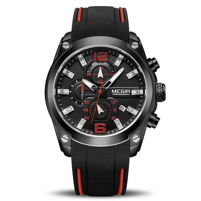 Sport Watch With Silicone Strap - watch-yes
