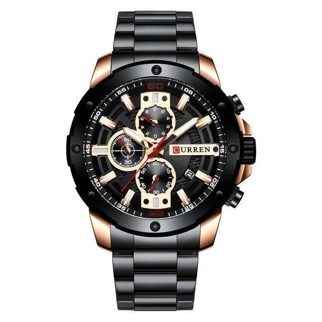 Luxury Casual Quartz Watch - watch-yes