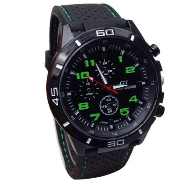Shock Resistant Sport Watch - watch-yes
