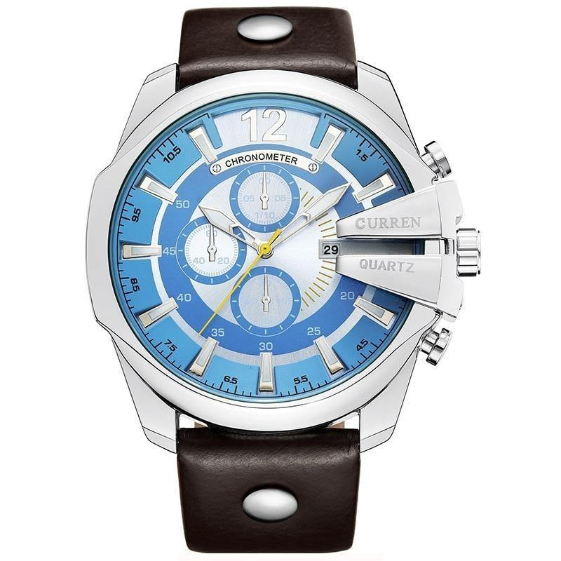 Luxury Fashion Watch With Big Dial - watch-yes