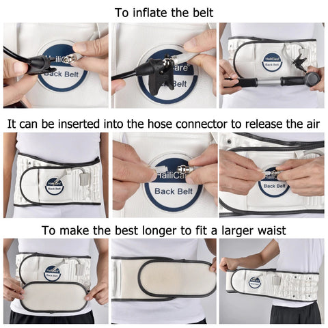 Air Traction Belt Use