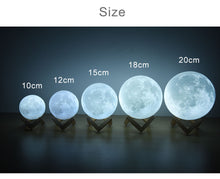 Load image into Gallery viewer, Beautiful Moon Lamp