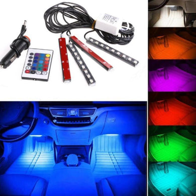 Car RGB LED Strip Interior Light