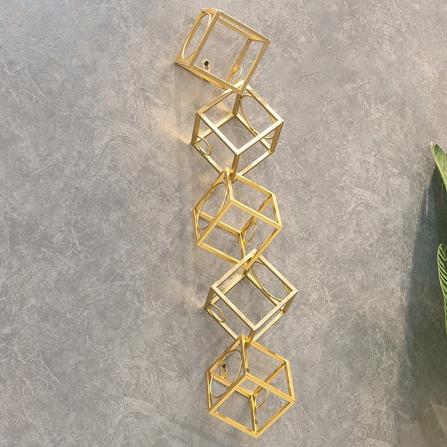 Stacked Cube Wine Rack