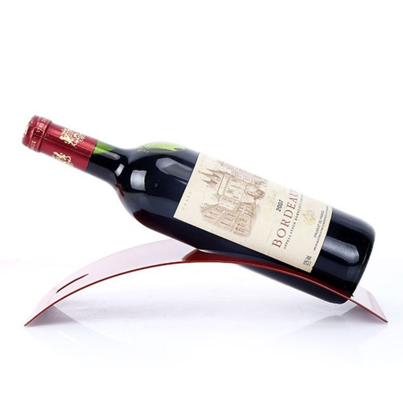 Stainless Steel Red Wine Bottle Holder