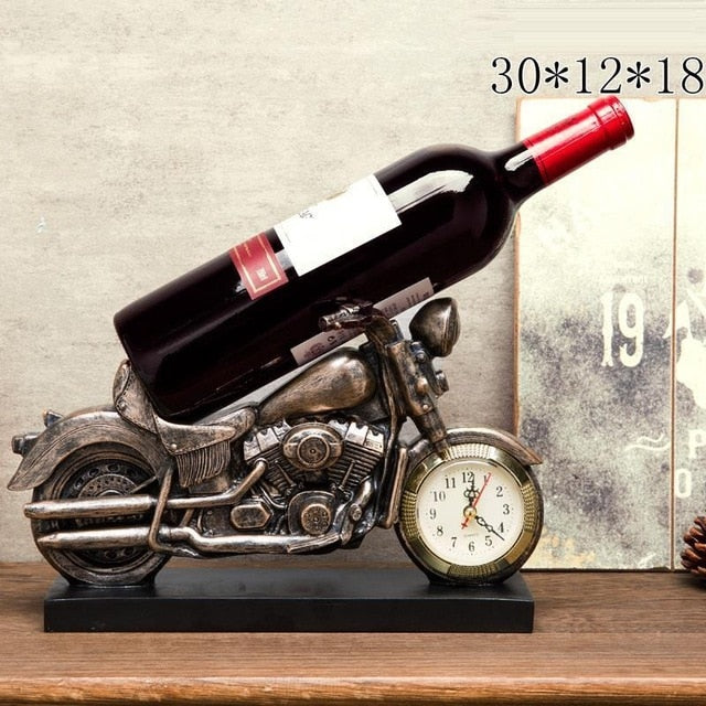 Old Fashioned Car Wine Bottle Holder
