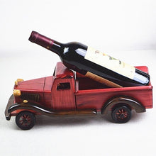 Load image into Gallery viewer, Old Fashioned Truck Wine Bottle Holder
