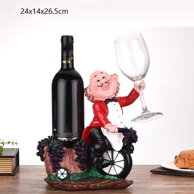 Drunken Wine Maker Wine Bottle Holder
