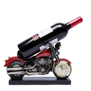 Motorcycle Wine Bottle Holder