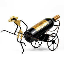 Load image into Gallery viewer, Rickshaw Wine Bottle Holder