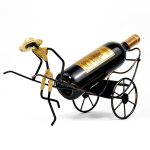 Rickshaw Wine Bottle Holder