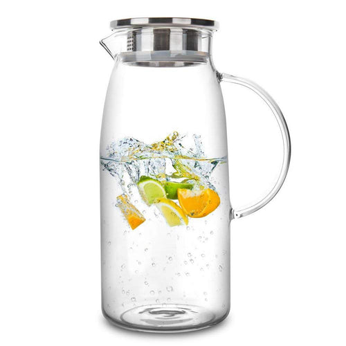 1300/1500/2000ml Transparent Glass Pitcher
