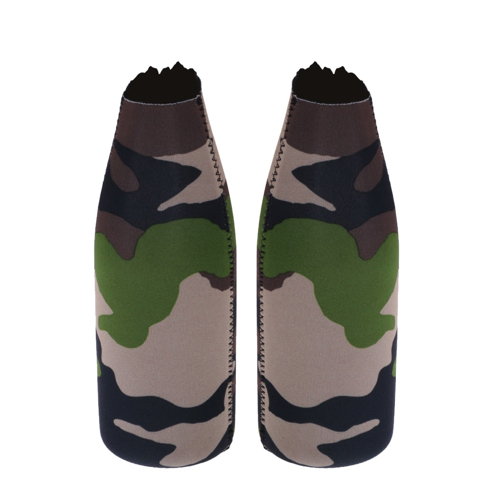 1 Pair Camouflage Beer Cooler