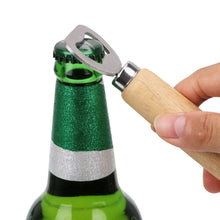 Load image into Gallery viewer, Wood Handle Bottle Opener