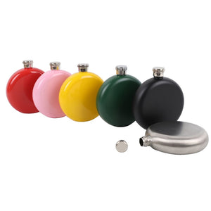 304 Stainless Steel Round Hip flask