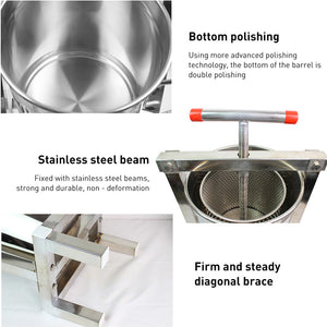 Stainless Steel Wine Press