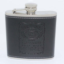 Load image into Gallery viewer, Leather Wrapped Flask