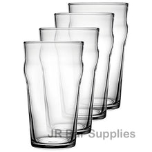 Load image into Gallery viewer, 4 PCS British Style Pint Glasses