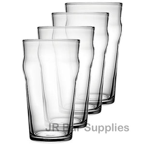 4 PCS British Style Pint Glasses