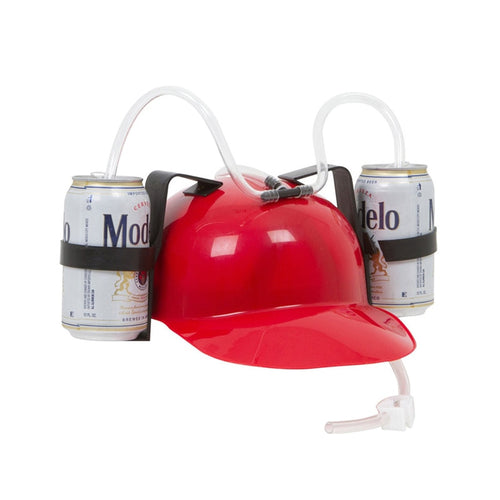 Red Drinking Hat