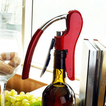 Load image into Gallery viewer, Bottle Corkscrew Opener, with Built-in Foil Cutter