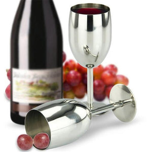 250ML Stainless Steel Wine Glass