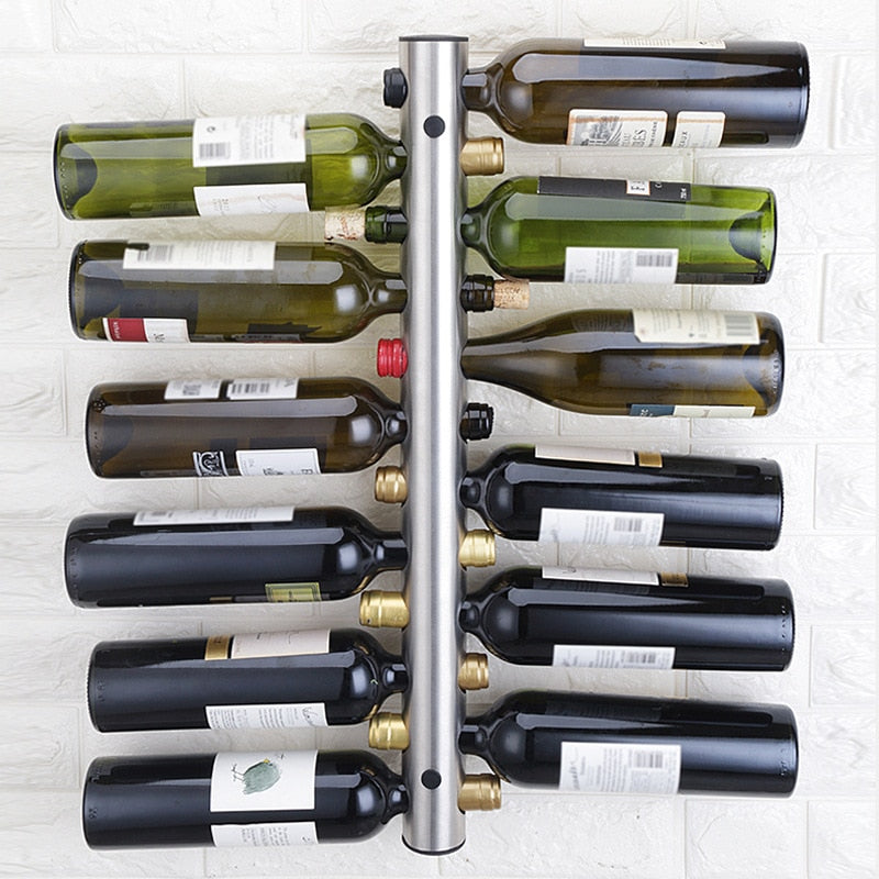 Stainless Steel Wine Rack