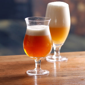 2 PCS Rounded Beer Glass