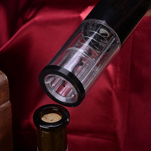Electric Corkscrew With Automatic Foil Cutter