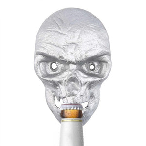 Wall Mounted Skull Bottle Opener