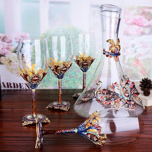 Decanter & Wine Glass Set