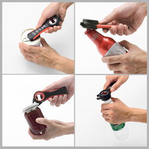 5 In 1 Multi Function Multi-function Bottle, Can & Jar Opener