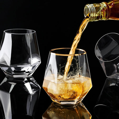 Hexagonal Whiskey Glass