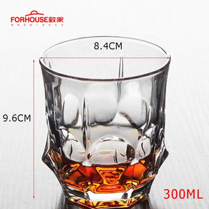Pointed Whiskey Glass