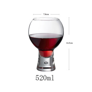 Perched Wine Glass
