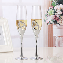 Load image into Gallery viewer, Wedding Champagne Flutes 2 Pcs /Set