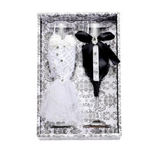 Load image into Gallery viewer, Bride & Groom Champagne Glasses