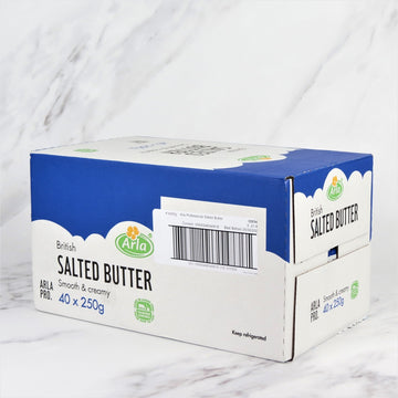 English Salted Butter - 40 x 250g